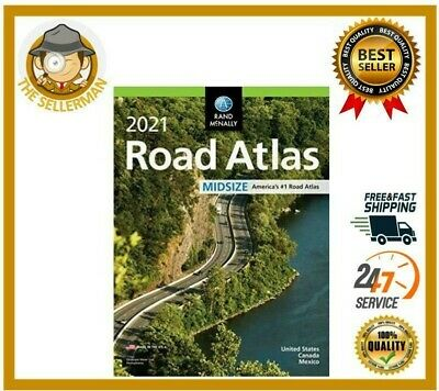 £9.33 • Buy USA ROAD ATLAS United States Travel Map Midsize Edition 2021 Update