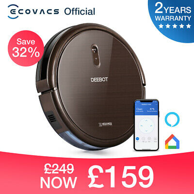 View Details Robot Vacuum Cleaners, Ecovacs Robotics DEEBOT N79S -High Suction! Boxed! New!  • 169.00£
