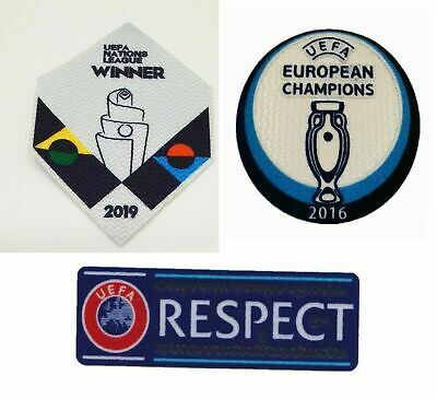 £7.99 • Buy Set 2020 2021 Euro Cup Portugal Football Soccer Patch Badge Jersey Shirt