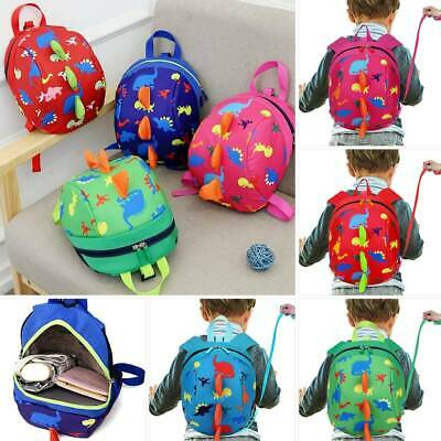 Baby Toddler Kids Cartoon Walking Safety Harness Backpack With Reins Strap Bag • 6.99£