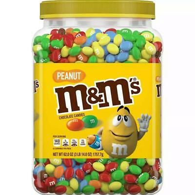 $29.95 • Buy M&M's Pantry Size Peanut Chocolate Candy - 62oz. FREE SHIPPING