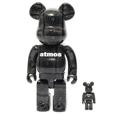$421.77 • Buy Bearbrick Atmos Bandana 100 400 Black