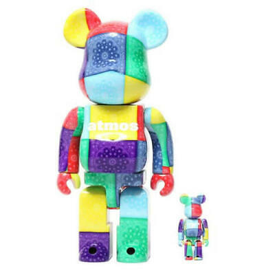 $421.77 • Buy Bearbrick Atmos Bandana 100 400 Multi