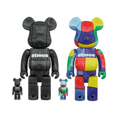 $752.89 • Buy Bearbrick Atmos Bandana 100 400 Set