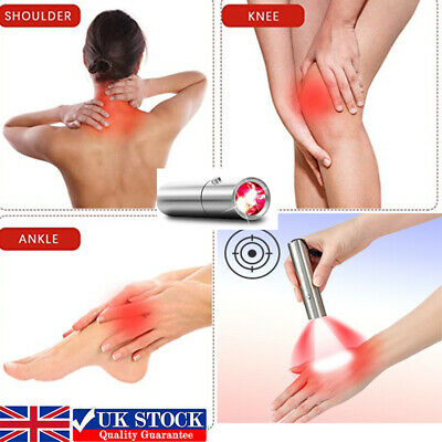 £54.98 • Buy UK Portable Red Light Therapy Device LED Infrared Light Therapy For Pain Relief