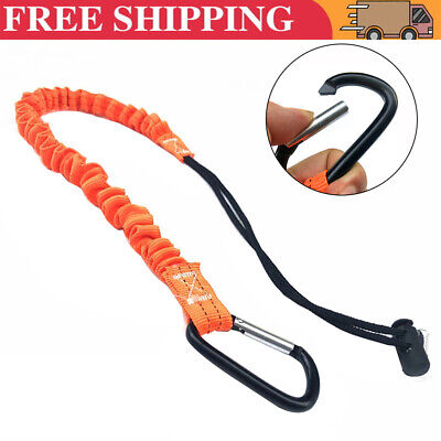 £7.97 • Buy For Tool Lanyard Scaffold Lanyard Tool Tether Safety Harness With Carabiner