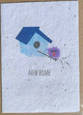 £3.75 • Buy New Home Plantable Card