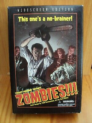 £19.99 • Buy Twilight Creations Widescreen Edition Zombies Board Game Complete Superb Cond.
