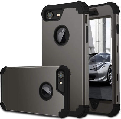 AU19.07 • Buy Fingic IPhone 7 Case/iPhone 8 Case Full Body Cover 3 In 1 Heavy Duty Protection