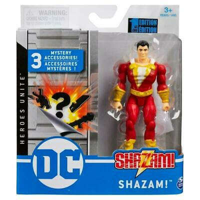 £8.99 • Buy DC Heroes Unite 4  Action Figures - Shazam With 3 Mystery Accessories