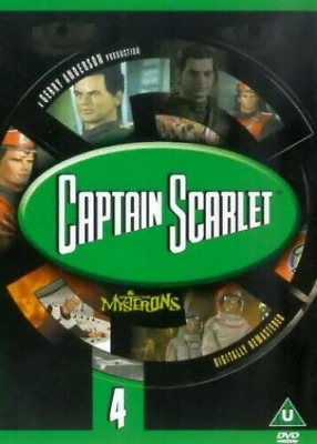 £2.30 • Buy Captain Scarlet And The Mysterons: 4 DVD (2001) Francis Matthews