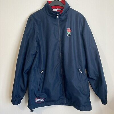 £18.99 • Buy Official England Rugby Union Navy Blue Jacket Mens Size Medium