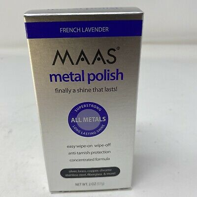 $24.50 • Buy MAAS Polishing Creme For All Metals, French Lavender 2oz(57g) Stainless Steel!