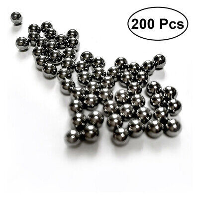 AU14.44 • Buy 200Pcs 6mm Stainless Steel Round Beads Bearings Ball For Slingshot Machine