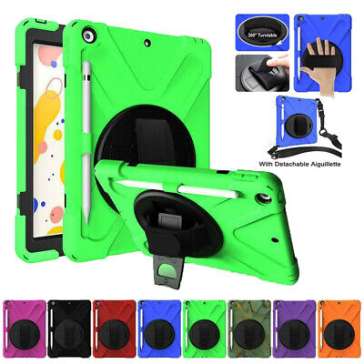 AU32.49 • Buy For IPad 7th 8th Gen 10.2in 360 Rotating Stand Case Heavy Duty Shockproof Cover