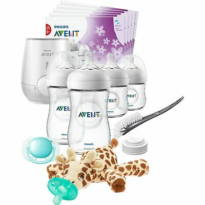 AU72.71 • Buy Philips Avent Natural All In One Gift Set With Snuggle Giraffe