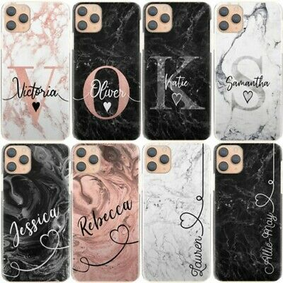 AU15.85 • Buy Personalised Marble Phone Case, Hard Cover For Htc/oppo, Custom Initials/name