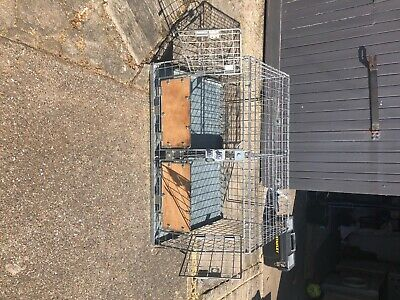£120 • Buy Double Dog Cage With Divider