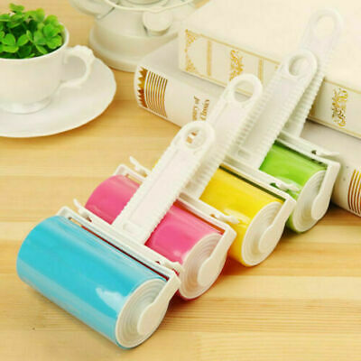 Prima 3PC LINT ROLLER SET DUST REMOVER PET HAIR CLEANING STICKY WASHABLE REUSEABLE