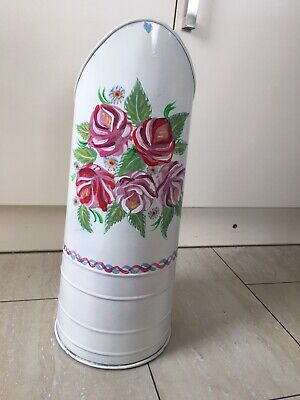£62 • Buy Narrow Canal Long Boat Art Barge Ware Coal Scuttle Umbrella Stand Flower Holder
