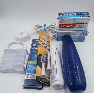 AU51.48 • Buy New Genuine ORAL-B Professional 7000 9000 Triumph Toothbrush With Extras