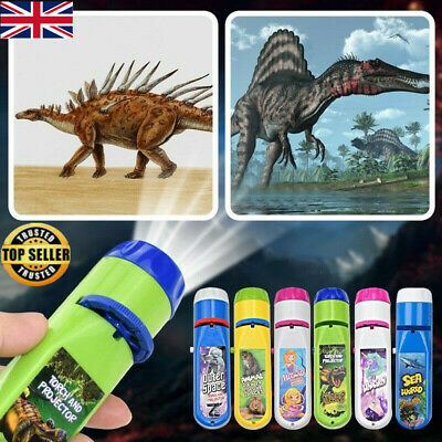£4.99 • Buy Xmas Projector Flashlight Torch Educational Light-up Toys For Children Kids Gift