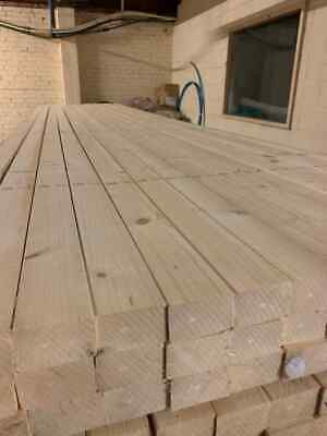 £99.99 • Buy TIMBER 3X2 PLANED EASY EDGE 75X47 10 Length At 2.4m Delivered Via Courier