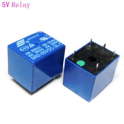 AU1.99 • Buy 5V / 12V Relay SONLE Mini PCB Relay SPDT 5-Pin 10A SRD-XXVDC-SL-C T73 Original