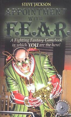 AU15.53 • Buy Appointment With F.E.A.R. (Fighting Fantasy Game... By Jackson, Steve 1840465271