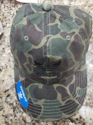 Adidas Men's Olive Camouflage Cap Hat Relaxed Adjustable Strap Osfa Msrp Nwt • 15.06£