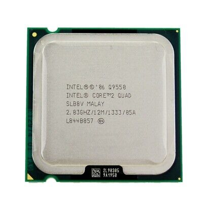 $ CDN32.14 • Buy Intel Core 2 Quad Q9550 Quad Core 2.83 GHz /12MB / 1333MHz LGA 775 CPU Processor