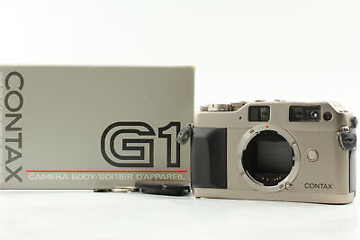 $ CDN344.82 • Buy [Exc+5 In BOX] Contax G1 Green Label Rangefinder Film Camera From JAPAN
