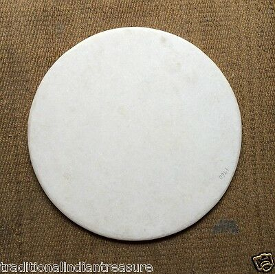 AU626.30 • Buy 20 X20  White Marble Round Plain Coffee Dining Table Top Home With Beveled Edge