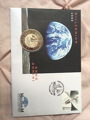 """£21 • Buy 2000 Royal Mint """"MILLENIUM"""" £5 COIN First Day Cover Series"""