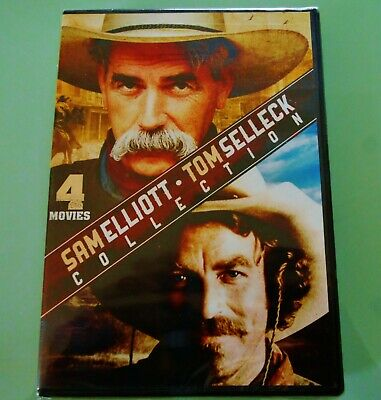 £9.95 • Buy Sam Elliott/Tom Selleck Collection ~ DVD ~ 4 Movie Collection ~ New & Sealed