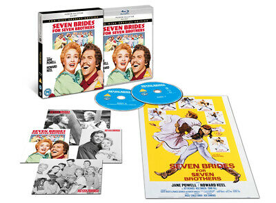 £15.99 • Buy Seven Brides For Seven Brothers (hmv Exclusive) - The Premium... [PG] Blu-ray