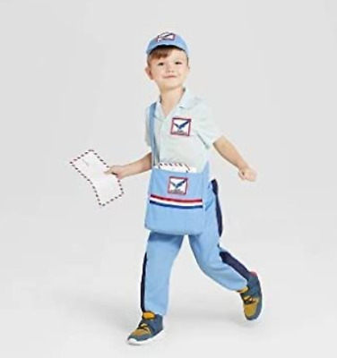 $14.99 • Buy Toddler Mail Carrier Postman Halloween Costume Hyde And Eek Boutique 2-3T
