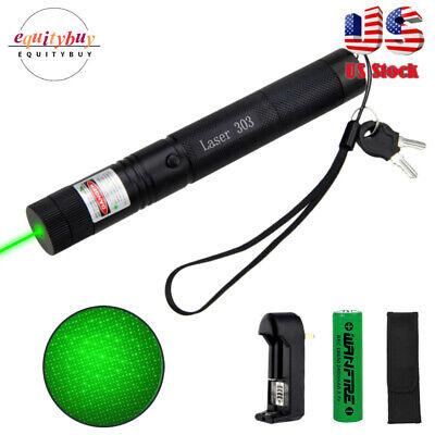 $12.99 • Buy 900m 532nm Green Laser Pointer Pen Astronomy Star Beam USB Rechargeable Hunting
