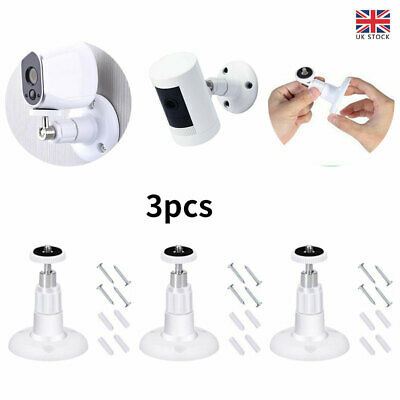3x Wall Mount Bracket Set For Ring Stick Up Cam Wired/Battery HD Security Camera • 5.92£