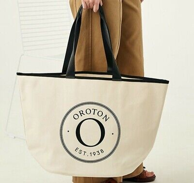 AU89 • Buy Brand New! OROTON Kaia Shopper Beach Tote Handbag Womens Bag Hobo - Great Gift!