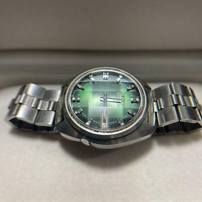 $ CDN162.11 • Buy Seiko 5 Actus 7019-7210 Green Dial Automatic Watch Men 21Jewels Vintage