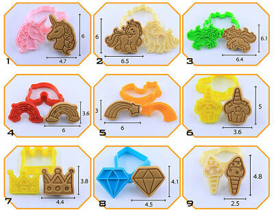 AU6 • Buy Unicorn Cookie Cutters