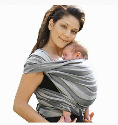 £74.95 • Buy Didymos Waves Baby Wrap Sling (Size 7, Silver)