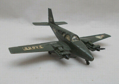£10 • Buy Vintage Dinky Toys Beechcraft C55 Barron Aircraft - Made In England - Green