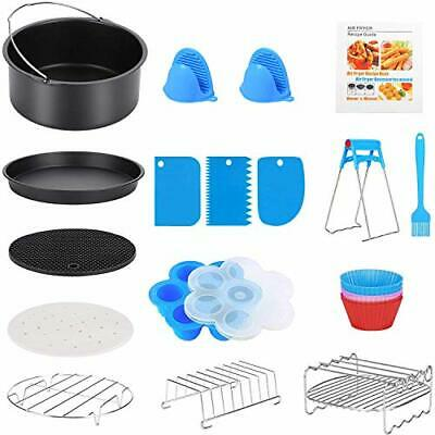 AU46.41 • Buy 17 Pcs Air Fryer Accessories With Recipe Cookbook For Growise Phillips Cozyna...