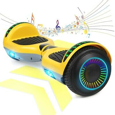 $ CDN242.62 • Buy 6.5 Electric Balancing Scooter Bluetooth Speaker LED