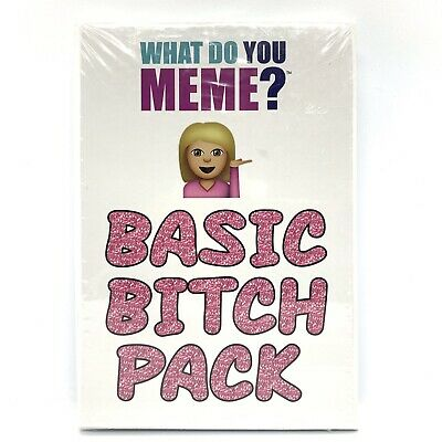 AU29.95 • Buy What Do You Meme? Basic Bitch Pack (Expansion)   FREE EXPRESS POST
