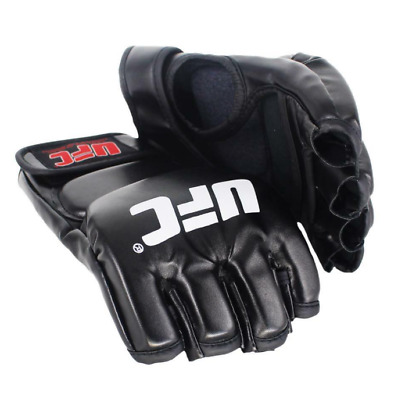 $ CDN28.42 • Buy Boxing Training Mma Gloves Grappling Muay Thai Fight Ufc Rdx Leather Punch Cage