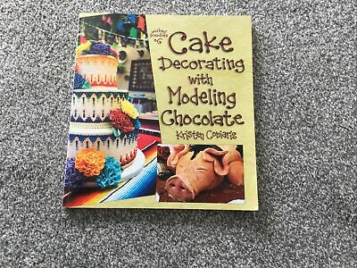 Cake Decorating With Modelling Chocolate Book • 3.80£