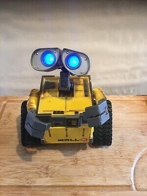 £49.95 • Buy Disney Pixar WALL-E / WALLE Action Figure / By Thinkway Toys  LIGHTS UP TALKING